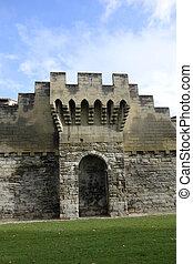 Medieval city of Avignon, France