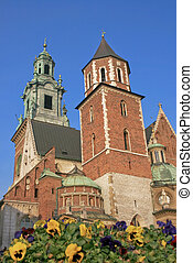 The medieval city of Cracow in Poland