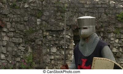 medieval crusader fighting - Fighting medieval knights