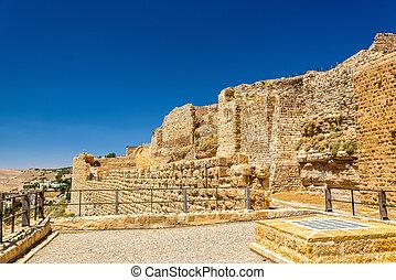 Medieval Crusaders Castle in Al Karak