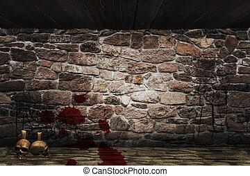 Medieval Dungeon Background