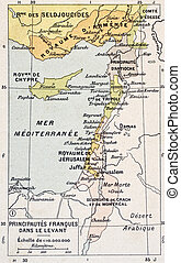 Eastern Mediterranean - Medieval Eastern Mediterranean old...