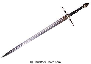medieval, espada