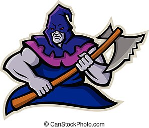 medieval-executioner-with-axe-mascot