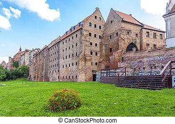 medieval granary in Grudziadz, Kuyavia-Pomerania, Poland