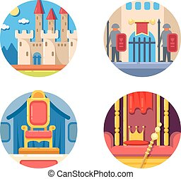Medieval kingdom set