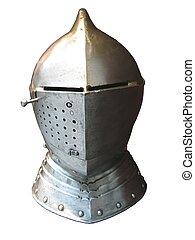 knight helmet - medieval knight helmet