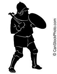 Medieval knight seven