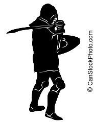 Medieval knight six