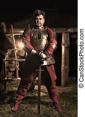 Medieval knight.