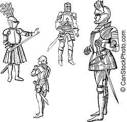 Medieval knights