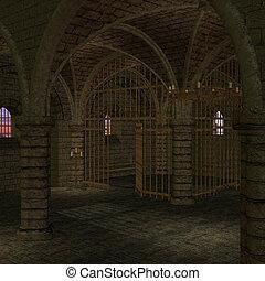 medieval, lugar