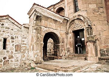 medieval old historic church in Georgia