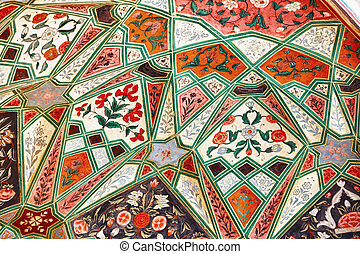 Medieval pattern in a indian mosque