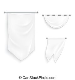 Medieval ribbons set