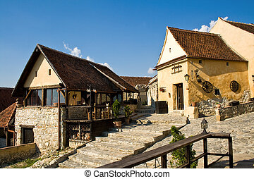 Medieval romanian town