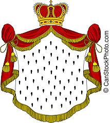 Medieval royal mantle
