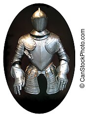 suit of armour - medieval suit of armour