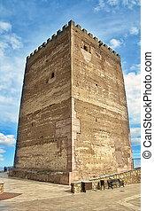 Medieval tower of Fernan Gonzalez in Spain