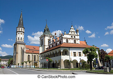 Medieval Town in Slovakia
