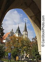 Medieval town Levoca in Slovakia