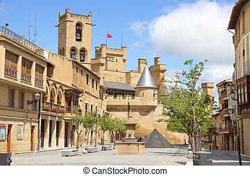 Olite in Navarra, Spain