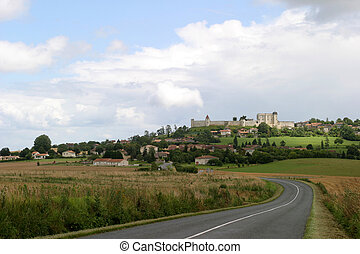 Medieval Village - Villebois-Lavalette, a fortified village...