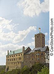 Wartburg Castle - medieval Wartburg Castle in Eisenach,...