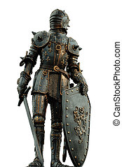 Medievale Armor - medieval knight with full body armor