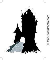 medievale, castello