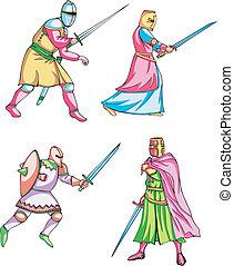 medievale, cavalieri