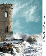 medievale, torre