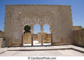 Medina Azahara ruins in Spain