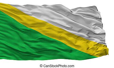 Medina City Flag, Colombia, Cundinamarca Department,...