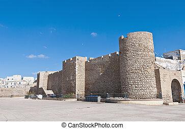 Medina ancient defensive wall at Safi, Morocco