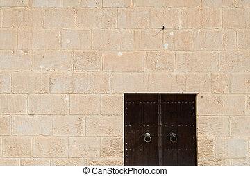 Medina Wall with Door (2)