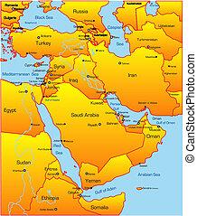 medio oriente, paese
