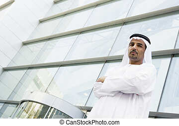 mediorientale, uomo affari