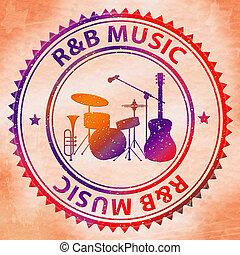 medios, alma, r&b, música, ritmo, melancolía