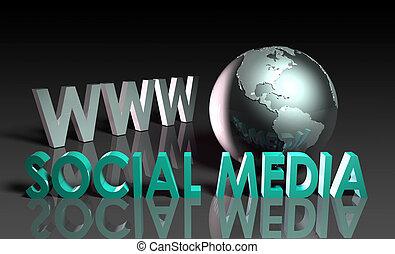 medios, social
