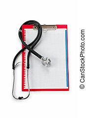 medisch concept, stethoscope