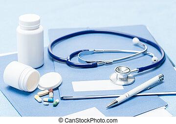medisch, medicatie, accessoires, pen