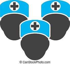 medisch personeel, pictogram