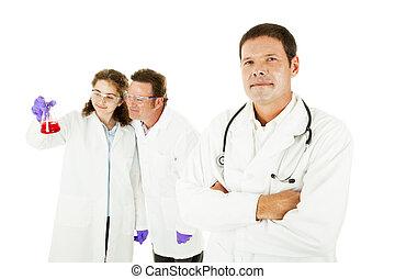 medisch team, leider