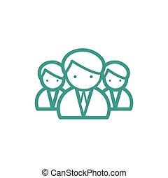 medisch team, pictogram