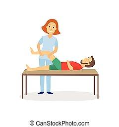medisch, therapie, rehabilitatie, lichamelijk