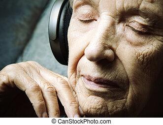 meditação, música
