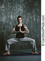 meditación, y, concentración
