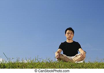 meditar, asian tripulam