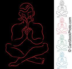 meditatie, het helen